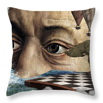 The Breaking Point Throw Pillow