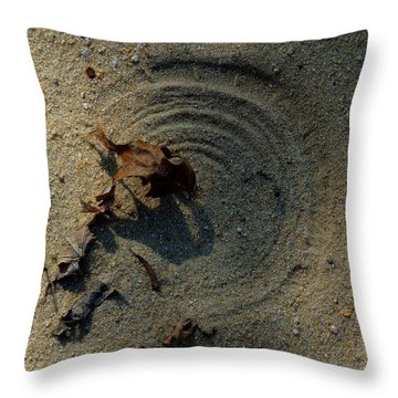 The Breath Of God - Study #2 Throw Pillow