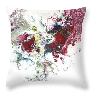 The Breath Of The Crimson Dragon Throw Pillow