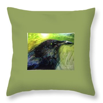 The Breath Of Winds Throw Pillow