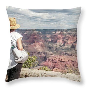 The Breathtaking View Throw Pillow