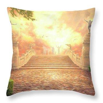 Soul Throw Pillows