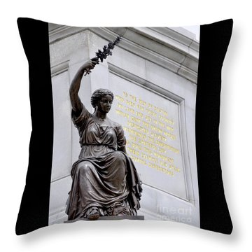 The Bringer Of Peace Throw Pillow