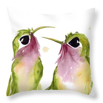 The Broad-tails Throw Pillow