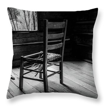 The Broken Chair Throw Pillow