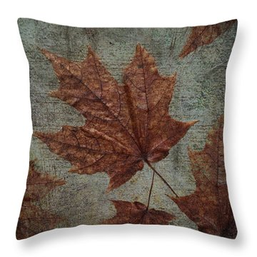 The Bronzing Throw Pillow