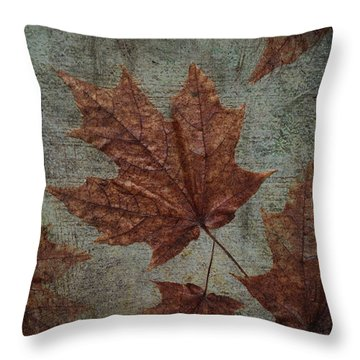 The Bronzing Throw Pillow