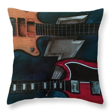 The Brothers Young Throw Pillow