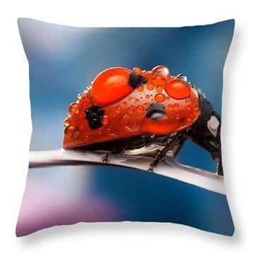 The Bug Throw Pillow