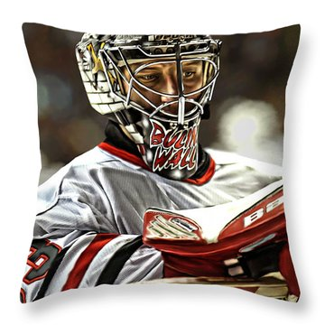 The Bulin Wall Throw Pillow