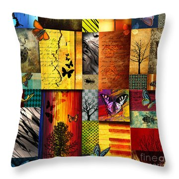 Textures Throw Pillows
