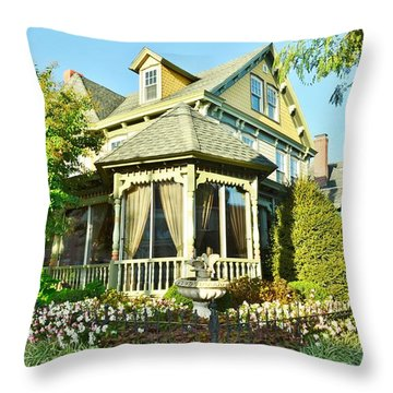 The Buttery Restaurant In Lewes Delaware Throw Pillow