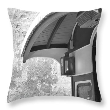 The Cable Car Nantucket Throw Pillow by Charles Harden