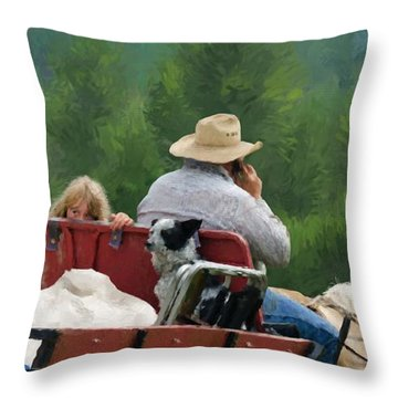 The Calling Throw Pillow