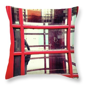 Throw Pillow featuring the photograph The Calling by Rebecca Harman