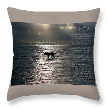 The Calling  Version Two Throw Pillow