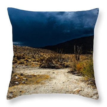 Throw Pillow featuring the photograph The Calm Before by Break The Silhouette