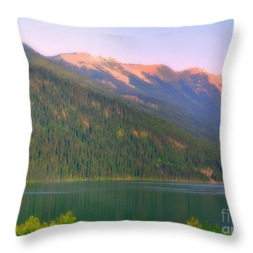 The Calm Throw Pillow by Elfriede Fulda