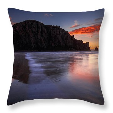 The Calm Returns Throw Pillow