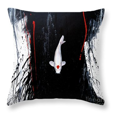 The Calm Throw Pillow