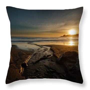 The Calming Bright Light Throw Pillow