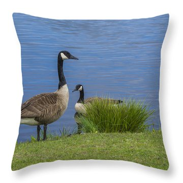 The Canadians Throw Pillow