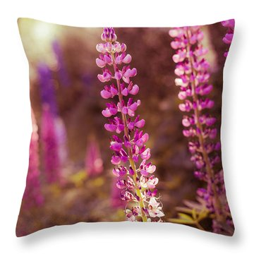 The Candle Throw Pillow