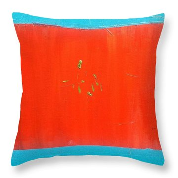 The Candy Store Throw Pillow