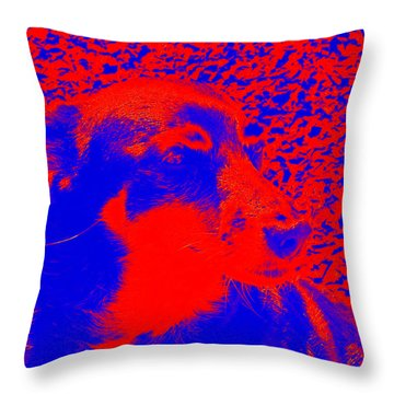The Canine Throw Pillow