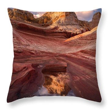 The Capital Throw Pillow by Bjorn Burton