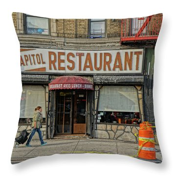 The Capitol Throw Pillow by Cole Thompson