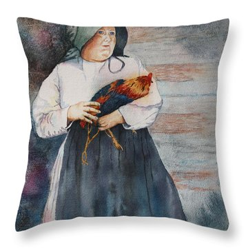 The Capture Of Beauregard Throw Pillow