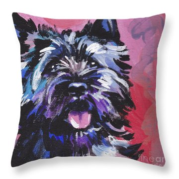 The Caring Cairn Throw Pillow