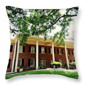 The Carolina Inn - Chapel Hill Throw Pillow