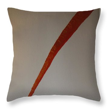 The Carrot Throw Pillow