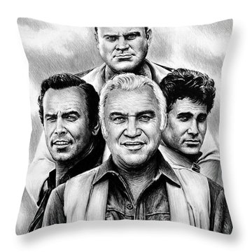 The Cartwrights Throw Pillow
