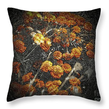 The Carved Bush Throw Pillow