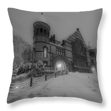 The Castle 2 Throw Pillow