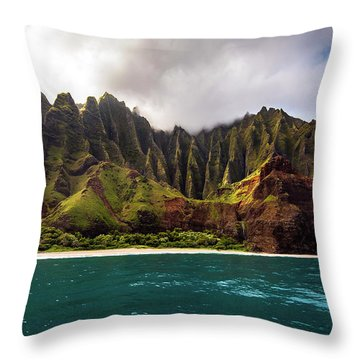 The Cathdral Throw Pillow