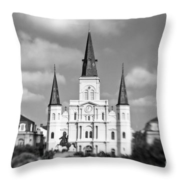 The Cathedral Throw Pillow by Scott Pellegrin