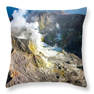 The Cauldron Throw Pillow