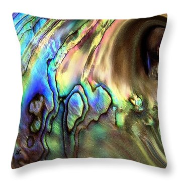 The Cave By Rafi Talby Throw Pillow by Rafi Talby