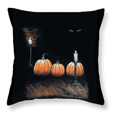 The Cellar Throw Pillow