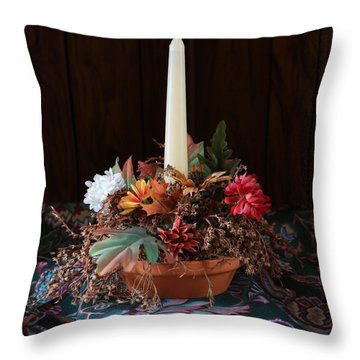 Throw Pillow featuring the photograph The Centerpiece by Rick Morgan