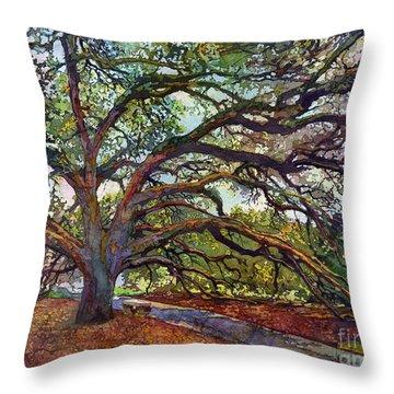 The Century Oak Throw Pillow
