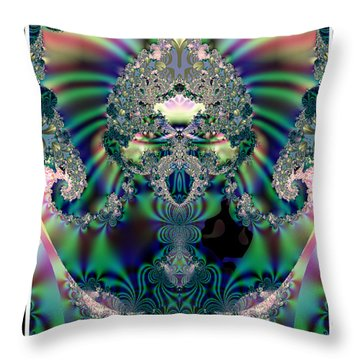 The Chalice Throw Pillow by Charmaine Zoe