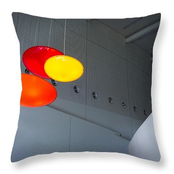 Throw Pillow featuring the photograph The Chamber by Tim Nichols