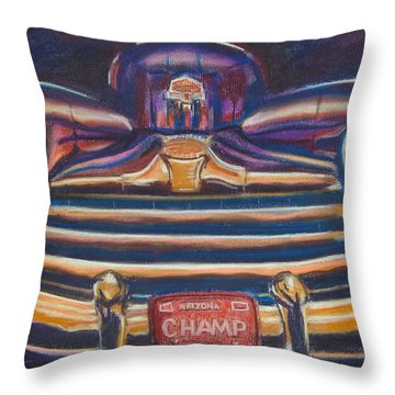 The Champ Throw Pillow