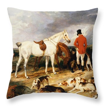 The Change, 1823 Throw Pillow