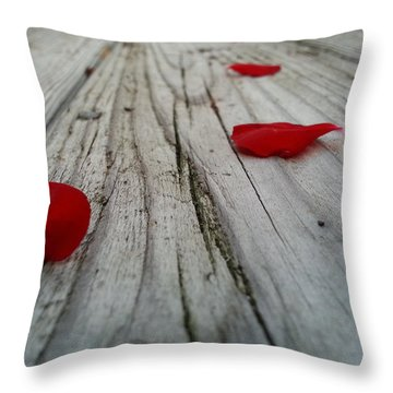 The Character Of Beauty Throw Pillow